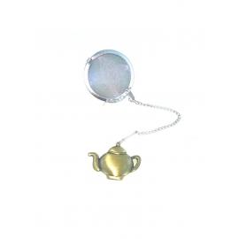 Boule à Thé fantaisie - Théière dorée